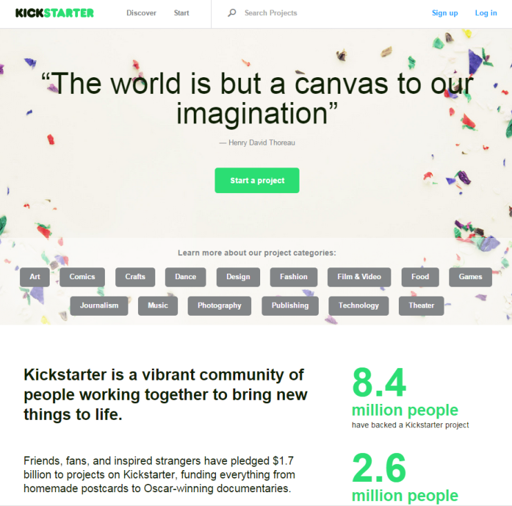kickstarter-site